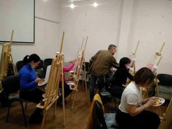 Мастер-класс по живописи для детей с сахарным диабетом
